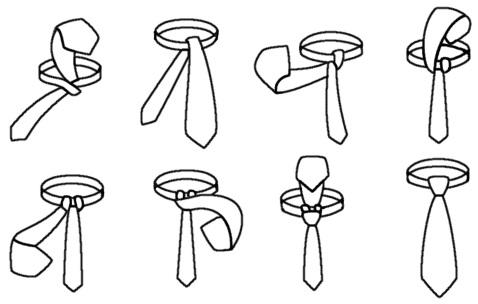Krawattenknoten Windsor